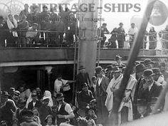 Kaiser Wilhelm der Grosse - steerage passengers