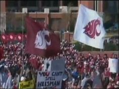 Learn how the flag gets from location to location each week and explore the history of the flags used over the years. #GoCougs