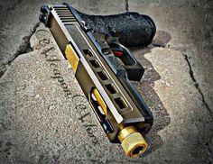 My weaponworx/Zev technology Glock 17.
