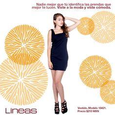 Viste a la moda y viste cómoda. #Lineas #outfit #moda #tendencias #2014 #ropa #prendas #estilo #primavera #outfit #vestido
