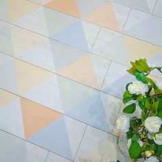 #vives #ceramic #tile #cersaie #italy #wood #triangle #colorfull #blue #rose #interior #floor #fashion #amazing #efeso #cute #desing #architecture #beautiful #decoration #elegant
