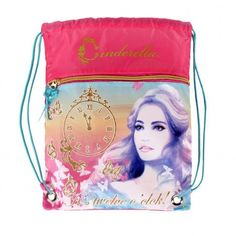 SACO CINDERELA DISNEY MIDNIGHT Tamanho: 29,5x35cm. Cinderella sack bag. 8.90€