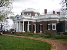 Monticello, Charlottesville, VA.  Home to Thomas Jefferson, a Thieist, Statesman, 3rd President of US, Inventor, Philosopher.