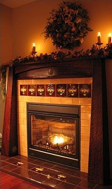 The Arts and Crafts Fireplace . . . A Finely Crafted Fire Space!