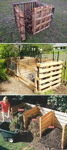 Build A Pallet Compost Bin.