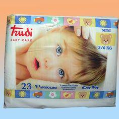 Pannolini Trudi Baby Care Dry Fit 3-6 Kg 23 pezzi