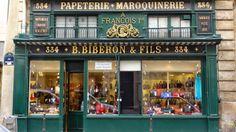 Parisian Shopping | Handbags | B. Biberon et Fils : On Rue Saint-Honore for beautiful leather goods
