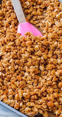7 easy ingredients mixed up in 1 bowl! Made with homemade peanut butter too.