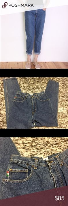 ✨✨Vintage Moschino High Waist Jeans✨✨ Moschino Jeans/ Vintage/ 90s/ Moschino/ women/ size W 31/ denim 100% cotton/ high waist/ zip/ Made in Italy/ Pics for inspiration/ Make Offer 🌸🌸🌸🌸 Moschino Jeans Ankle & Cropped
