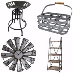 Where to buy affordable industrial farmhouse decor! AMAZING RESOURCE.