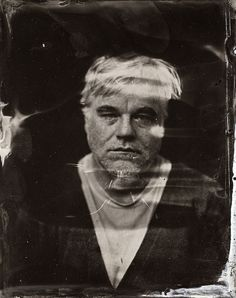 One of Philip Seymour Hoffman last photos from the Sundance Film festival