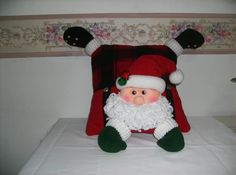 Cojin Nieves Gigante     Cojin Santa Gigante      Cojín Reno     Cojín Santa        Cojín Santa Merry Chri... Christmas Clay, Christmas Crafts, Xmas, Christmas Chair Covers, Applique Patterns, Elf On The Shelf, Table Runners, Christmas Stockings, Cocoa