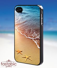 Beach and starfish iPhone 4/4s/5/5s/5c Case by fastabicgalerry, $15.00