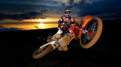 Whip Roczen Ktm Team Shooting Motorcycle Hero Wallpaper #80844 - Resolution 1920x1080 px