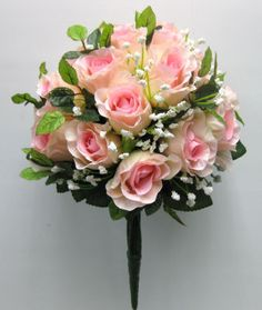Michaels.com Wedding Department: Ashland™ Classic Traditions Collection Pink Rose Bush This Pink Rose Bush from the Classic Traditions Collection is ideal for the do-it-yourself wedding, shower or luncheon.
