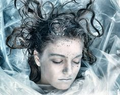 Laura Palmer wrapped in plastic, Twin Peaks