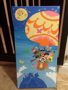 Its a Small World - nursery art