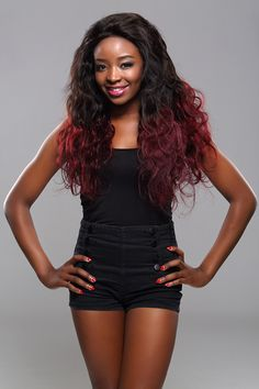 XBL Two Tone Red Virgin Hair