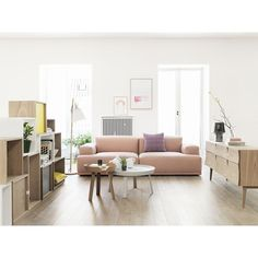 Connect Modular 2 Seater Sofa from Muuto Designed by Anderssen and Voll for the Scandinavian Living Room | Urban Couture - Designer Homeware...