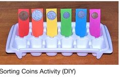 Sorting Coin Activity. This could be modified to count coins as well