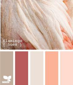 Loving the peach and reddish tones
