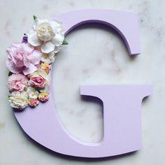 Flores cartas cartas florales decoración de cuarto de niños