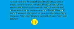 chant Sports Chants, Softball Chants, Softball Bows, Softball Pitching, Softball Quotes, Girls Softball, Fastpitch Softball, Golf Quotes, Baseball Season