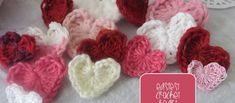 [Video Tutorial] The Easiest Crochet Heart Ever