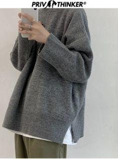You searched for akolzol.com Warm Sweaters, Casual Sweaters, Casual Tops, Hooded Sweater, Men Sweater, Fashion Boutique, Boutique Shop, Korean Casual, Knitted Coat
