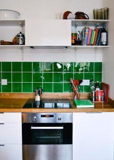 A Grassy Green London Kitchen | Kitchn