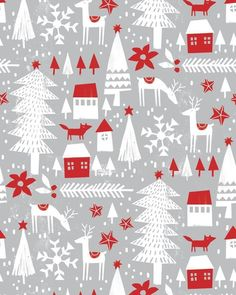 Revisiting my design from Create Christmas Simplified and made into gift wrap. - Revisiting my design from Create Christmas Simplified and made into gift wrap. Diy Christmas Cards, Christmas Gift Wrapping, Christmas Design, Christmas Decorations To Make, Christmas Art, Christmas Ideas, Christmas Wreaths, Christmas Patterns, Christmas Quotes