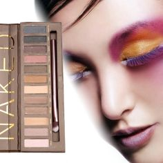 Fashion Women Colorful 12 Colors Eye shadow Palette Makeup Cosmetic Earth Color…