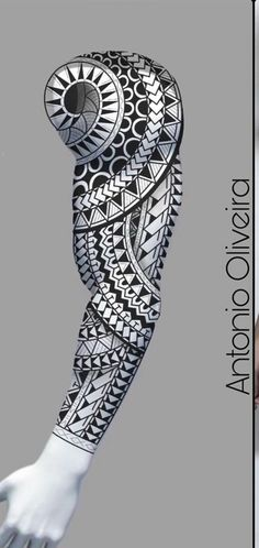 Best Sleeve Tattoos, Back Tattoos, Tattoos For Guys, Forearm Tattoo Men, Arm Band Tattoo, Maori Tattoo Arm, Polynesian Tattoo Designs, Maori Tattoo Designs, Flower Cover Up Tattoos