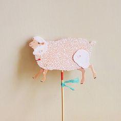 Paper Puppet -Sheep