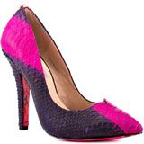 Betsey Johnson's Multi-Color Taylr - Fuchsia Multi for 119.99 direct from heels.com