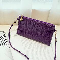 Handbags women bag Femal fashion Crocodile pattern small square women leather handbags messenger bags phone package♦️ SMS - F A S H I O N 💢👉🏿 http://www.sms.hr/products/handbags-women-bag-femal-fashion-crocodile-pattern-small-square-women-leather-handbags-messenger-bags-phone-package/ US $4.95