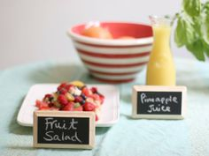 Food Label Ideas for Easier Entertaining — Apartment Therapy