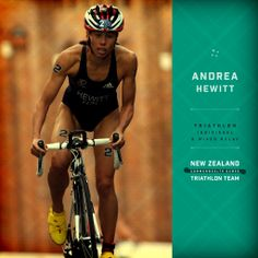 The incredible Andrea Hewitt will be representing New Zealand in the individual and mixed triathlon teams at  the Commonwealth Games this year. #glasgow2014