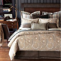 Eastern Accents Powell Hand-Tacked Bedding Collection | Wayfair