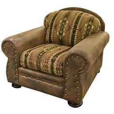 Nebraska Furniture Mart – Intermountain Navajo Wind River Chair in Brown
