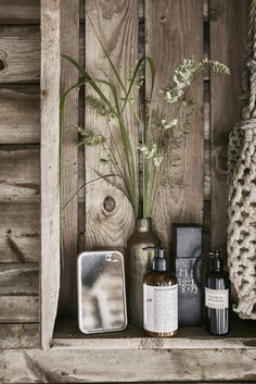 [Styling details in rustic bathroom Bathroom Style, Interior, Purchase Furniture, Ceramic Floor Tiles, Scandinavian Home, Bathroom Styling, Bathroom Mixer Taps, Inspiration, Bathroom Inspiration