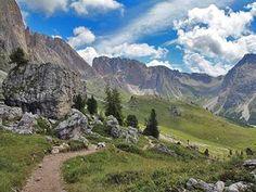 Von Col Raiser über den Cisles Höhenweg nach St. Christina