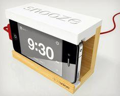 Snooze iPhone Alarm Dock