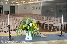 New England Room at the Gallivant. Beach Wedding Venue