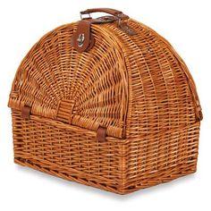 Picnic Plus Athertyn 2 Person Picnic Basket - Plaid Lining - PSB-266
