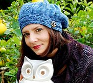 Ravelry: funiculaire hat pattern by bunnymuff, free pattern 5 ply (this one in Malabrigo Arroyo) advanced