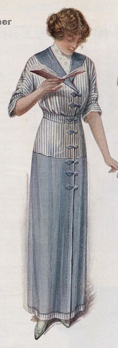 Day Dress for Spring, 1912