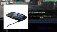 EANOP HUD Mirror 04 Car Head Up Display Windshield Speed Projector Secur...