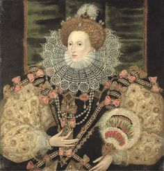 Retrato de Elisabeth I (1588) George Gower
