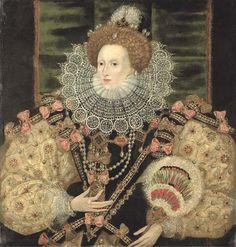 Retrato de Elisabeth I (1588) George Gower